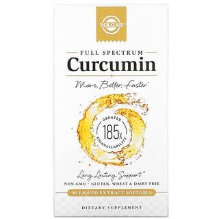 Solgar, Curcumina de espectro completo, 90cápsulas blandas de extracto líquido