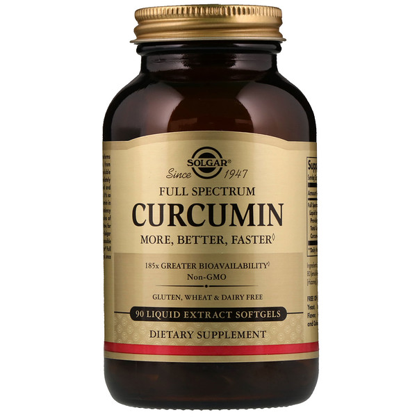 Full Spectrum Curcumin, 90 Liquid Extract Softgels