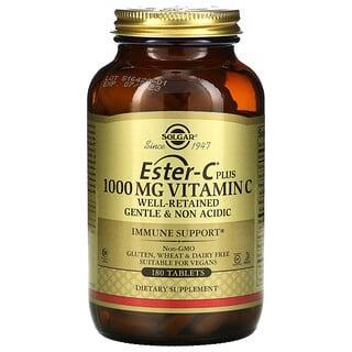 Solgar, Vitamina C Ester-C Plus, 1.000mg, 180 Comprimidos