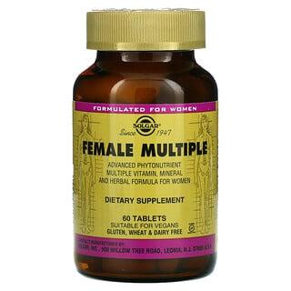 Solgar, Female Multiple, 60 Tablets