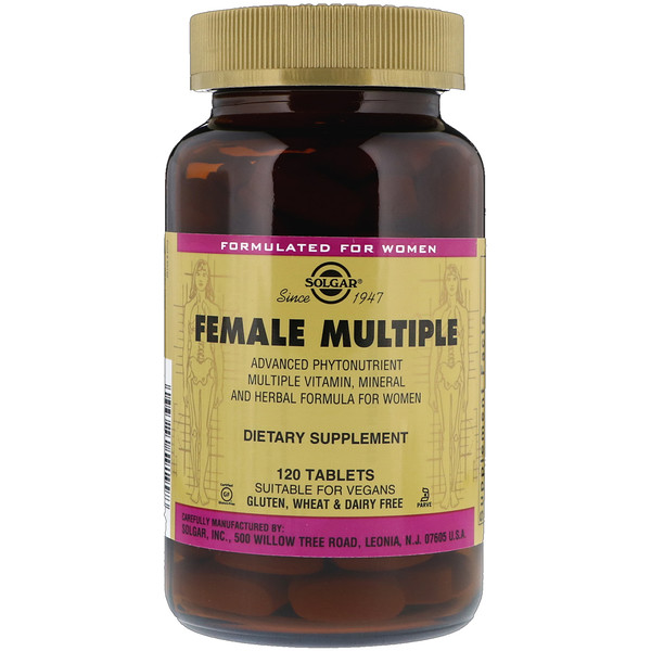 Female Multiple, 120 Tablets