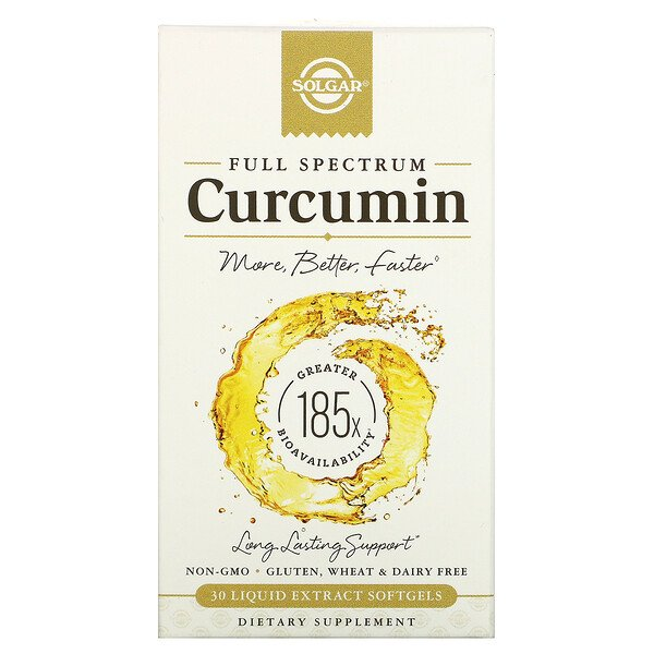 Full Spectrum Curcumin, 30 Liquid Extract Softgels