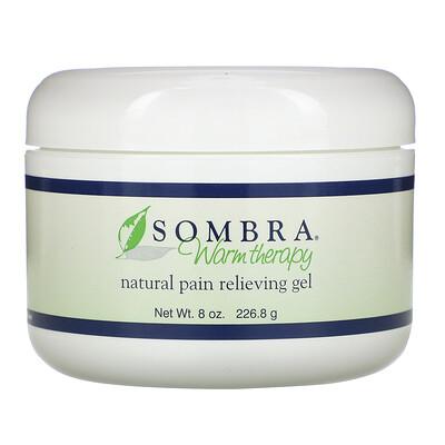 Sombra Professional Therapy Warm Therapy, натуральный гель для облегчения боли, 227,2 г (8 унций)
