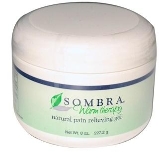 Sombra Professional Therapy, WΣrmetherapie, Gel zur natⁿrlichen Schmerzlinderung, 8 oz (227.2 g)