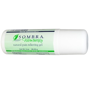 Сомбра Профешэнэл Терапи, Natural Pain Relieving Roll-On Gel, 3 oz (85.05 g) отзывы