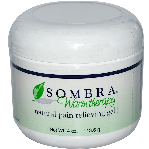 Sombra Professional Therapy, Warm Therapy, Natural Pain Relieving Gel, 4 oz (113.6 g) (Discontinued Item)