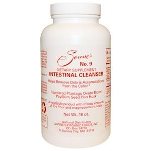 Соннес, No. 9, Intestinal Cleanser, 10 oz отзывы покупателей