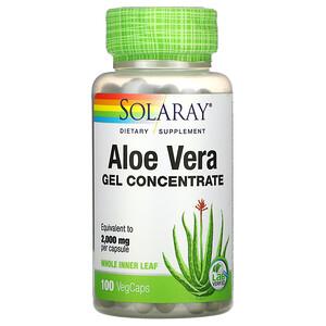 Соларай, Aloe Vera Gel Concentrate, 100 VegCaps отзывы