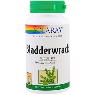 Solaray, Bladderwrack, 100 Veggie Caps