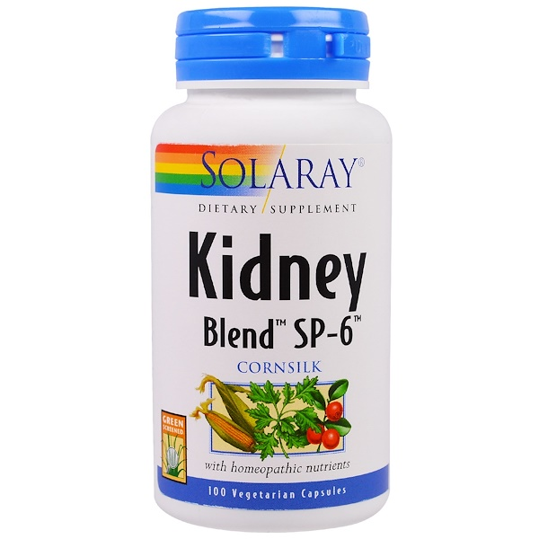 Solaray, Kidney Blend SP-6, 100 Veggie Caps