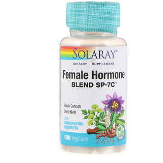 Solaray, Female Hormone Blend SP-7C, 100 VegCaps