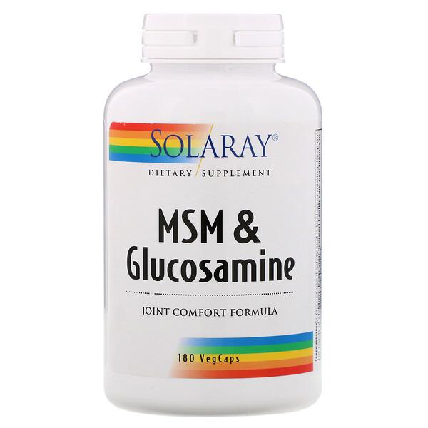 MSM & Glucosamine , 180 VegCaps