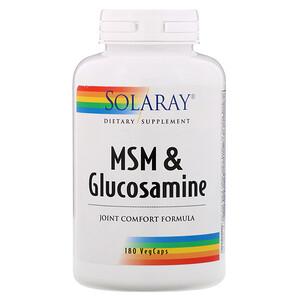 Соларай, MSM & Glucosamine , 180 VegCaps отзывы