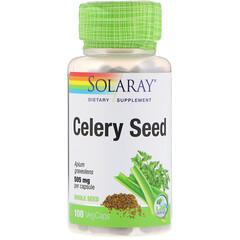 Solaray, Celery Seed, 505 mg, 100 VegCaps