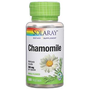 Соларай, Chamomile, 350 mg , 100 VegCaps отзывы