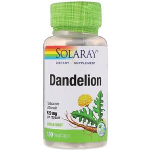 Соларай, Dandelion, 520 mg, 100 VegCaps отзывы