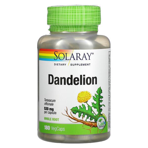 Dandelion, 520 mg, 180 Vegcaps