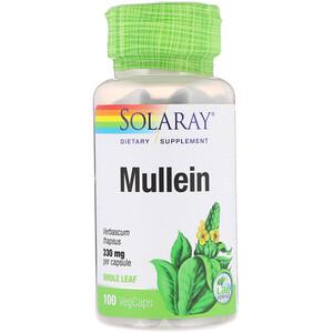 Соларай, Mullein, 330 mg, 100 VegCaps отзывы покупателей