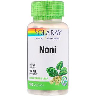 Solaray, Noni, 100 VegCaps