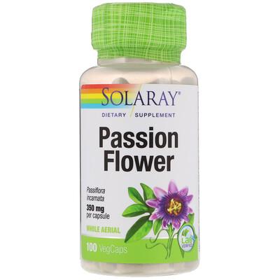 Пассифлора, 350 мг, 100 растительных капсул недорого