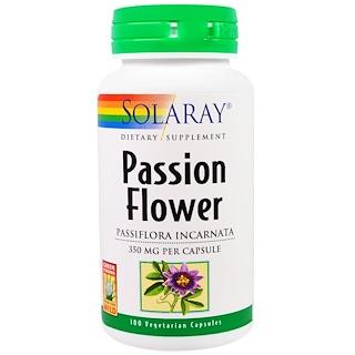 Solaray, Passion Flower, 350 mg, 100 Veggie Caps