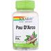 Pau D'Arco, 550 mg, 100 VegCaps - изображение