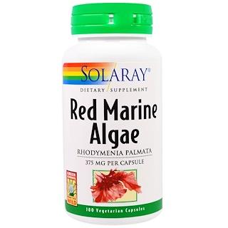 Solaray, Red Marine Algae, 375 mg, 100 Vegetarian Capsules