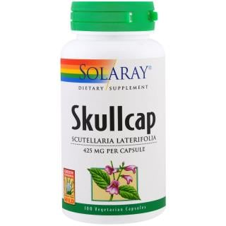 Solaray, Skullcap, 100 Veggie Caps