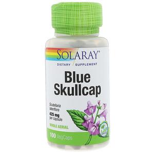 Соларай, Blue Skullcap, 425 mg, 100 VegCaps отзывы
