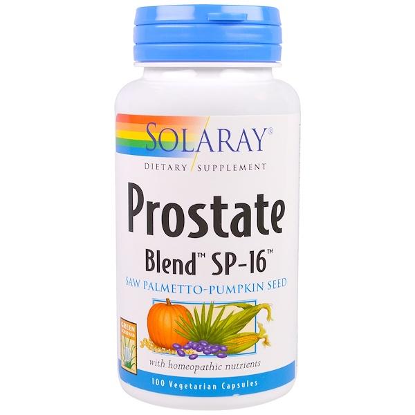 Solaray, Prostate Blend SP-16, 100 Veggie Caps