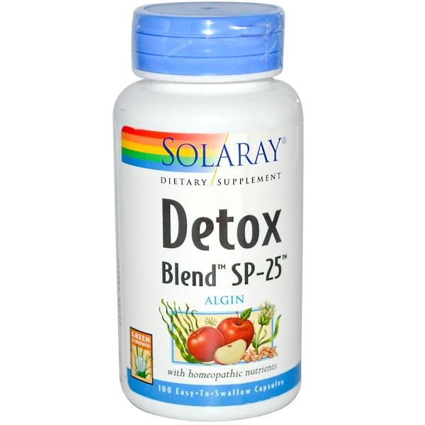 Solaray, Детокс смесь SP- 25 100 капсул (Discontinued Item)
