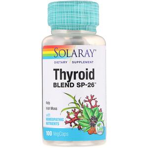 Соларай, Thyroid Blend SP-26, 100 VegCaps отзывы