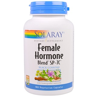 Solaray, Female Hormone Blend SP-7C, 180 Vegetarian Capsules