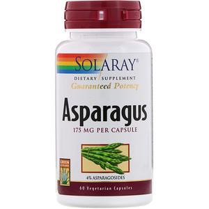 Соларай, Asparagus, 175 mg, 60 Vegetarian Capsules отзывы