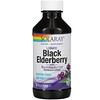 Solaray, Liquid Black Elderberry Extract with SambuActin, 4 oz (120 ml)