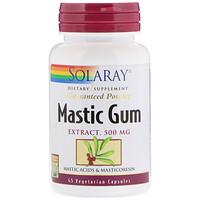 Экстракт мастиковой смолы, 500 мг, 45 вегетарианских капсул - фото