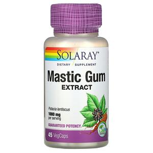 Соларай, Mastic Gum Extract, 1,000 mg, 45 VegCaps отзывы