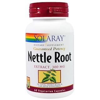 Solaray, Nettle Root Extract, 300 mg, 60 Veggie Caps