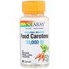 Food Carotene, Натуральный источник, 10 000 МЕ, 30 капсул