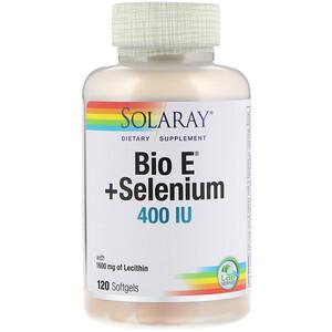 Соларай, Bio E + Selenium, 400 IU, 120 Softgels отзывы покупателей