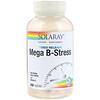 Solaray, メガB-ストレス、持続放出、植物性カプセル240粒