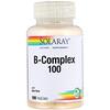 Solaray, B-Komplex 100, 100 vegetarische Kapseln