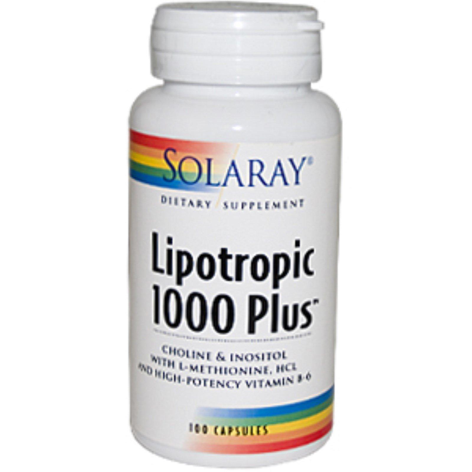 Lipotropic capsules