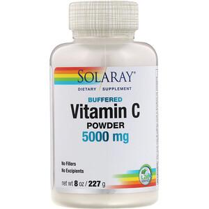 Соларай, Buffered Vitamin C Powder, 5,000 mg, 8 oz (227 g) отзывы