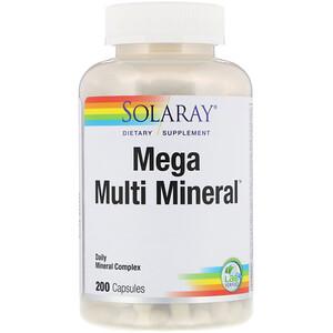 Соларай, Mega Multi Mineral, 200 Capsules отзывы покупателей