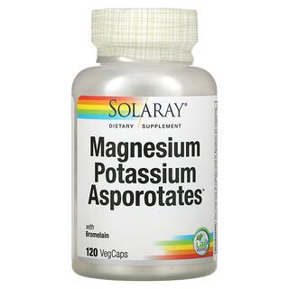 Solaray, Magnesium Potassium Asporotates, 120 VegCaps