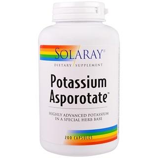 Solaray, Potassium Asporotate, 200 Capsules