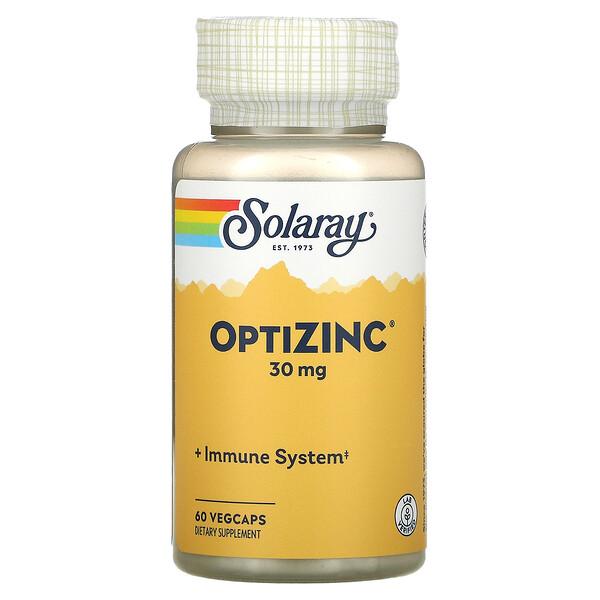 OptiZinc 補鋅膠囊,30 毫克,60 粒