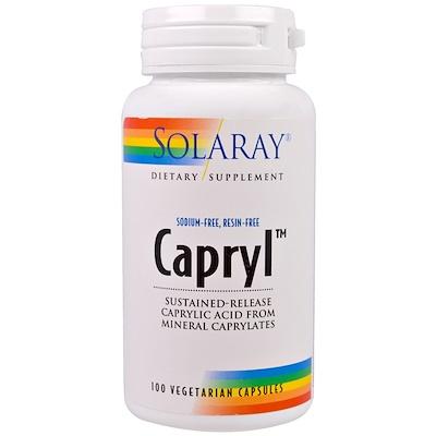 Купить Каприл, замедленно высвобождение, 100 капсул в растительной оболочке