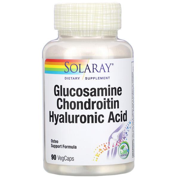 Glucosamine Chondroitin Hyaluronic Acid, 90 VegCaps
